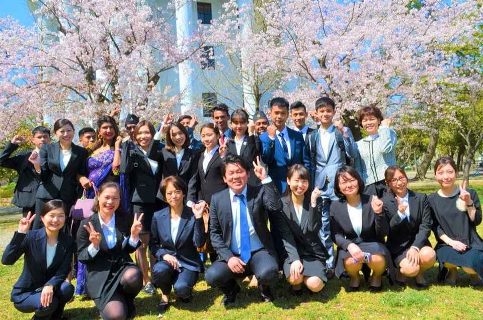 Buổi lễ khai giảng của các bạn tân du học Yano - Trường Nhật Ngữ ESL