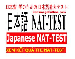 ĐỀ THI NATEST N5