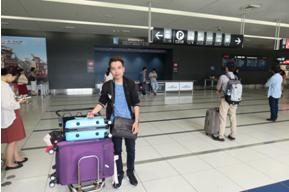 Hình ảnh 10/2016 - Đón các bạn du học sinh tại sân bay quốc tế Chubu in Nagoya tháng 10/2016