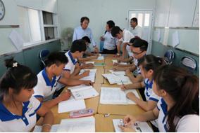 Du học Yano đón tiếp các vị khách Nhật về quê hương Phúc Thọ