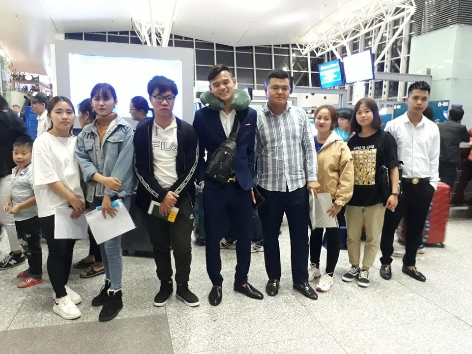 Đưa Đón Các Tân Du Học Sinh Yano Tại Sân Bay Nội Bài - Chubu Japan - 4/2019