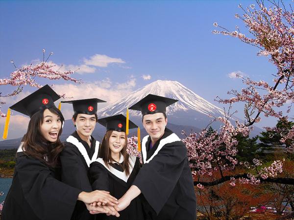 Hỗ trợ suốt quá trình theo học tại Nhật