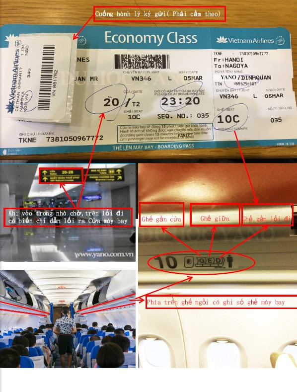 Hướng dẫn cách xem vé máy bay Việt - Nhật