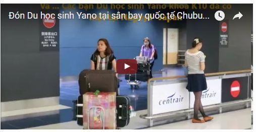 Video 07/2016 - Đón du học sinh Yano tháng 07 năm 2016