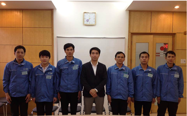 Yano tổ chức phỏng vấn thực tập sinh cho Tổng công ty xây dựng Yanokensetu-Japan.
